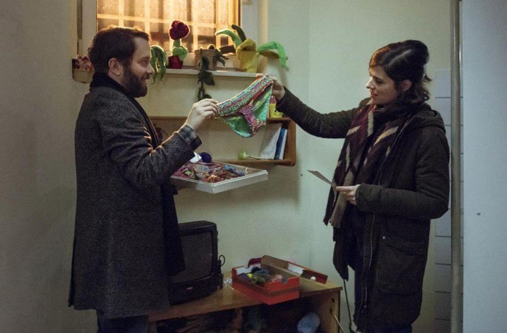 Strickbikinis pflastern ihren Wege: Lessing (Christian Ulmen) und  Dorn (Nora Tschirner= ermitteln. Foto: MDR