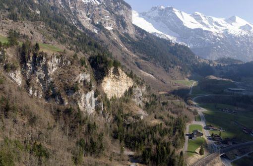 Munitionslager in den Schweizer Alpen droht in die Luft zu fliegen