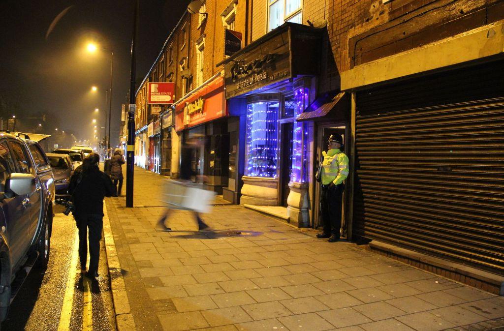 Die Polizei hat in London und Birmingham Wohnungen gestürmt und sieben Personen festgenommen. Foto: PA Wire