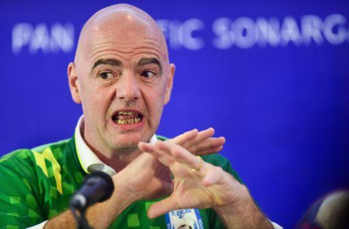 Fifa-Präsident will bei Rassismus hart durchgreifen