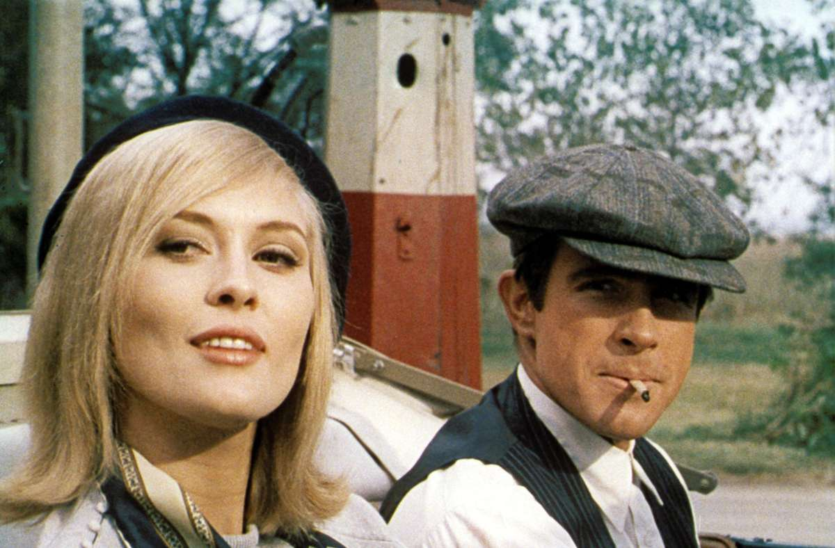 "Faye Dunaway und Warren Beatty in ""Bonnie und Clyde"" Foto: Warner"