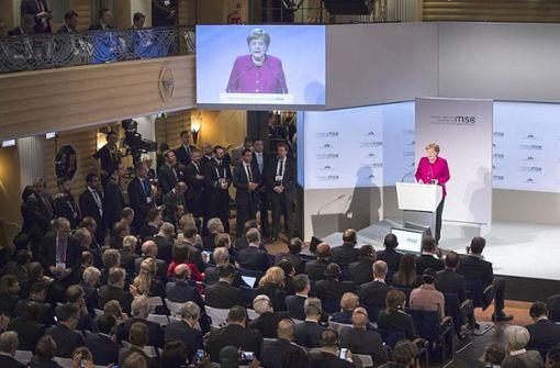 Angela Merkel attackiert US-Wirtschaftspolitik
