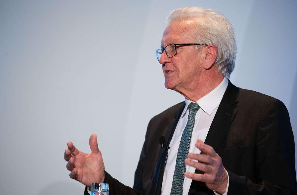 Ministerpräsident Winfried Kretschmann (Grüne) hatte jüngst dafür plädiert, die Priorisierungen beim Impfen zu lockern. (Archivbild) Foto: LICHTGUT/Leif Piechowski