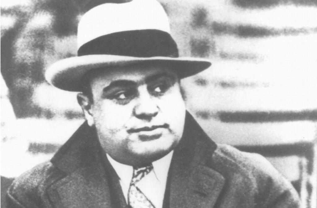 """Al Capone, genannt """"Scarface"""", war in der 1920er und 1930er Jahren der führende    Mafia-Boss der Chicagoer Unterwelt. Foto: UPI/dpa"""