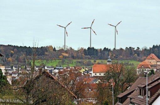 Gegenwind für Windkraft