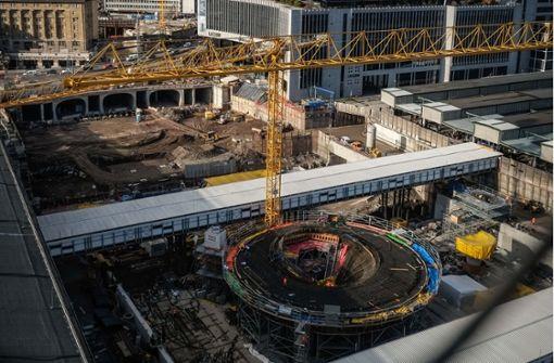 So weit sind die Bauarbeiten am Hauptbahnhof