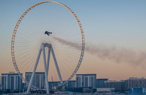 """""""Jetman"""" stellt neuen Flug-Weltrekord auf"""