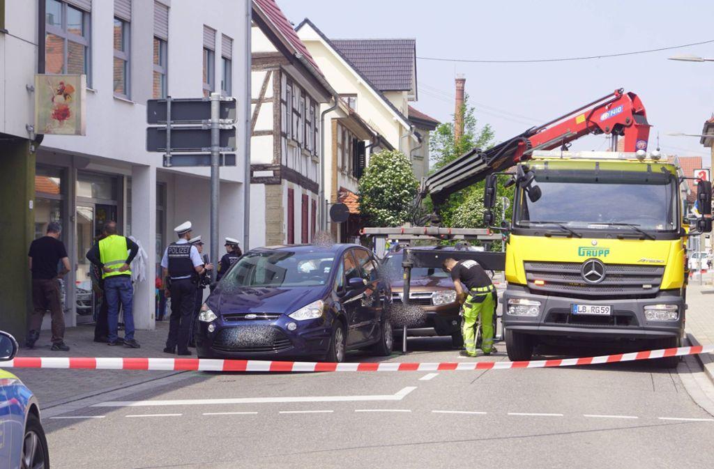 Die Polizei meldet einen Unfall im Kreis Ludwigsburg, bei dem ein Mann ums Leben gekommen ist. Foto: 7aktuell.de/F. Hessenauer