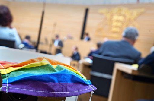 Nur AfD gegen Maskenpflicht im Landtag