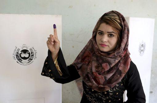 Taliban-Angriffe überschatten Wahl in Afghanistan