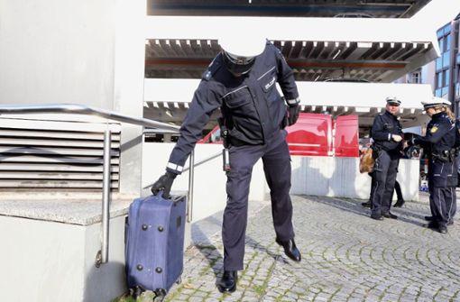 Herrenloser Koffer löst Polizeieinsatz in der Innenstadt aus