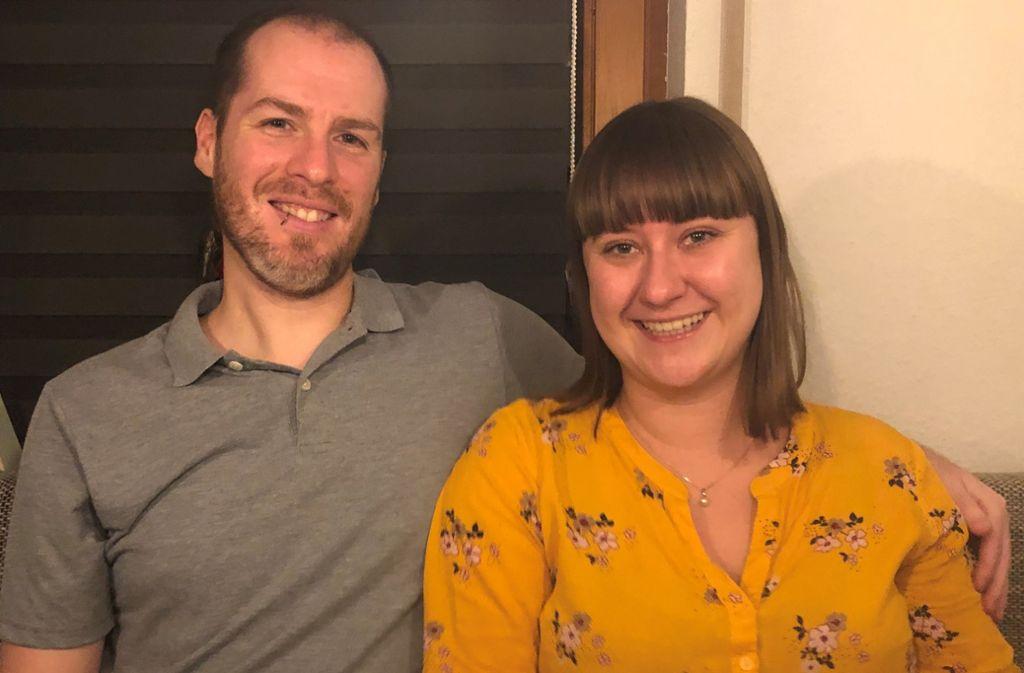 Fabian und Tine Englich  nehmen  auch eine längere Anfahrt auf sich, wenn sie in ein bestimmtes Restaurant  wollen. Foto: Rebecca Anna Fritzsche