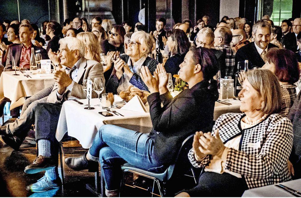 Ein Abend, den die Gäste nicht so schnell vergessen werden: die Gala zu Ehren der Stuttgarter des Jahres 2017. Foto: Lichtgut/Achim Zweygarth