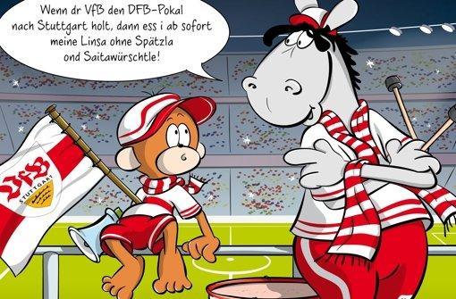 Wenn der VfB den Pokal holt...