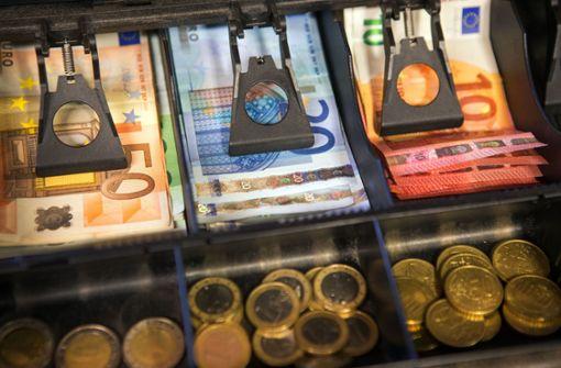 Geldfälscher gehen gerne einkaufen