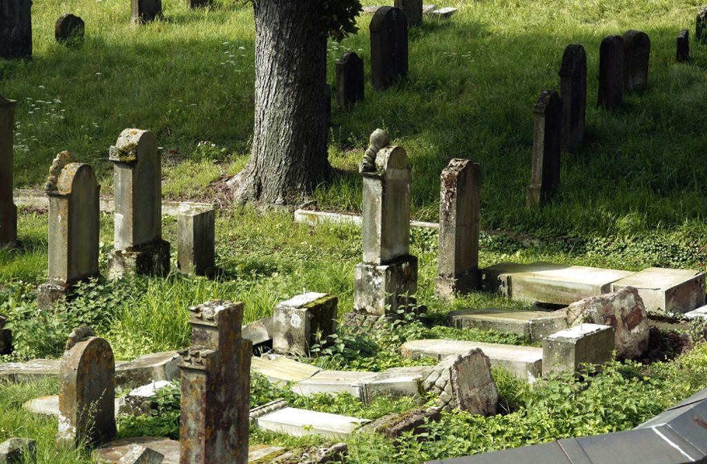 Immer wieder werden jüdische Friedhöfe geschändet Foto: dpa