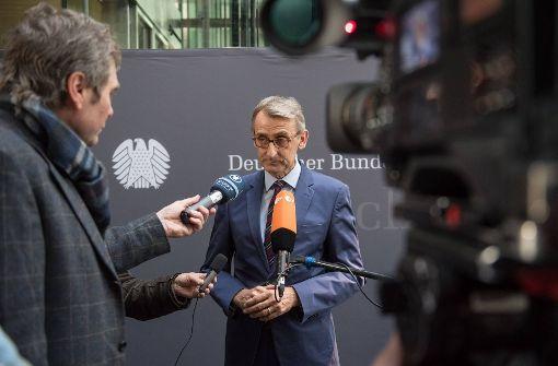 Sicherheitsfachmann: CDU-Mann Armin Schuster im Bundestag Foto: imago stock&people