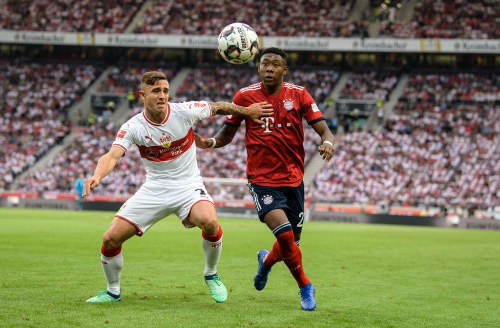 Pablo Maffeo wird nicht verliehen und bleibt daher beim VfB Stuttgart. Foto: dpa