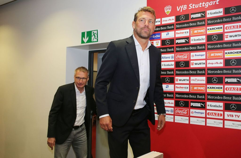 Der 43-Jährige wurde im Rahmen einer Pressekonferenz vorgestellt. Foto: Pressefoto Baumann