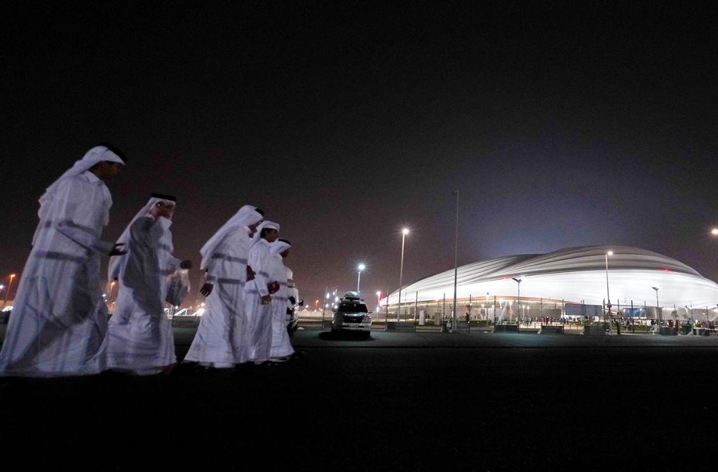 Die Fußball-WM 2022 findet in Katar statt. Foto: picture alliance/dpa/Sharil Babu