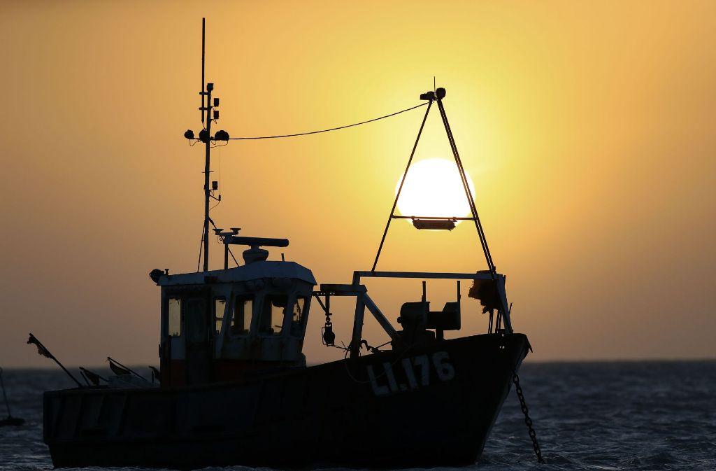 Deutschland darf in Zukunft nicht mehr in küstennahen Gewässern Großbritanniens fischen. Foto: PA Wire