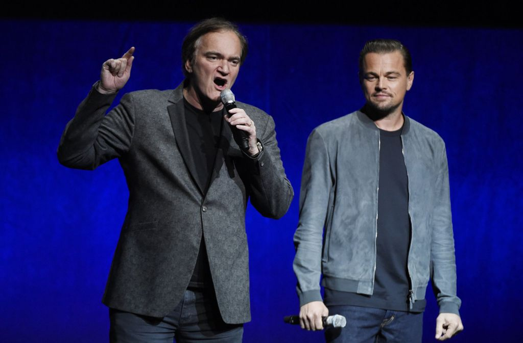 Im August soll der neue Film von Quentin Tarantino (links) und Leonardi DiCaprio in die Kinos kommen. Foto: Invision