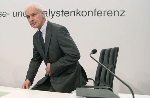 VW-Konzernchef Matthias Müller soll Posten räumen