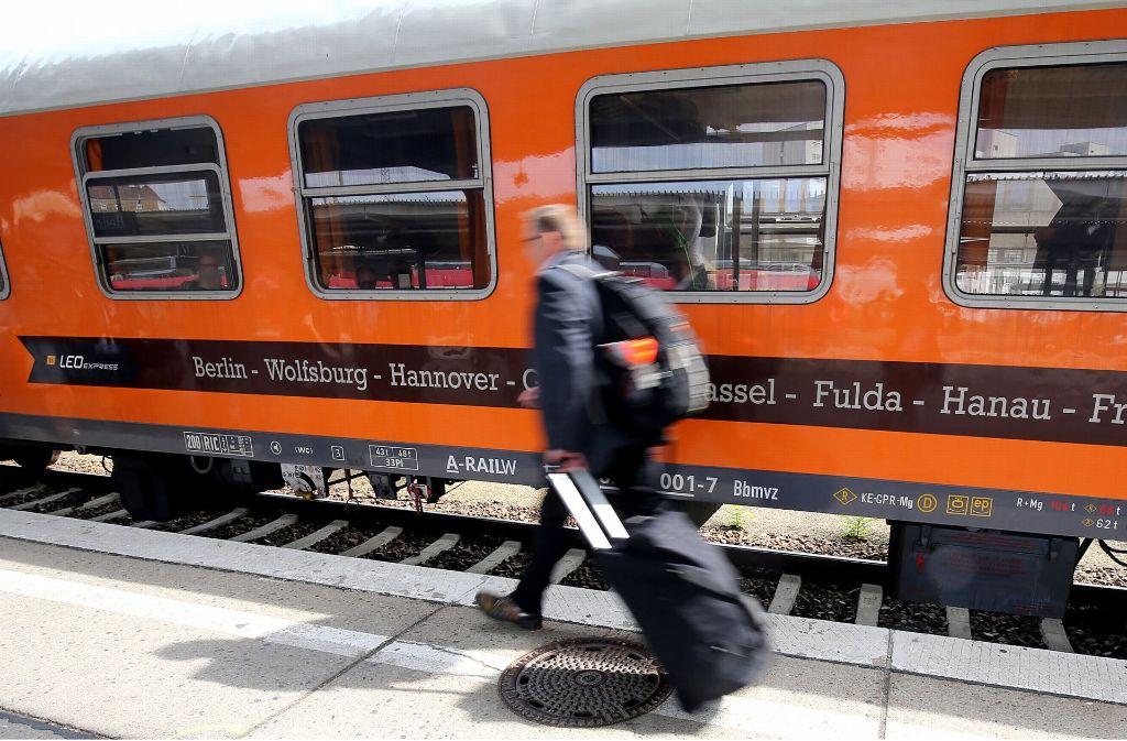 Das Zug-Start-up Locomore bietet Fahrten von Stuttgart nach Berlin und andersherum an. Foto: dpa