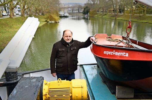 Zwei Schiffe sollen mehr Leben an den Fluss bringen