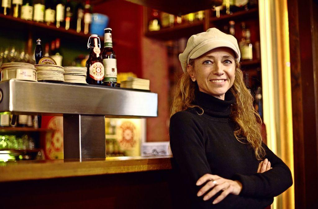 Sonja Noppinger hat vor gut sieben Jahren ihre Kneipe Fischlabor eröffnet. Foto: