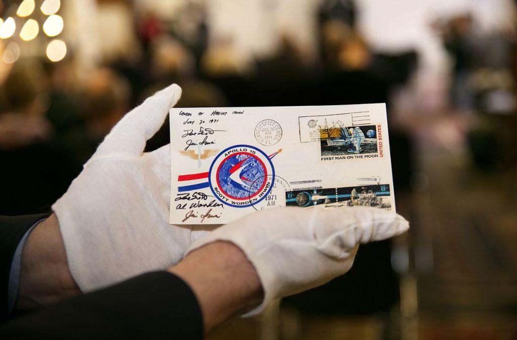 Der Mondbrief wird zur Auktion angeboten – und niemand meldet sich Foto: Ines Rudel