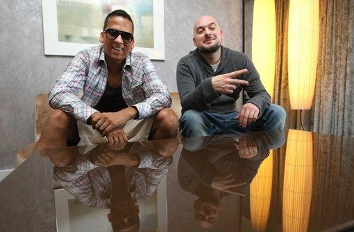 """Xavier Naidoo und Kool Savas sorgen mit ihrem Song """"Wo sind"""" für Aufruhr. Foto: dapd"""