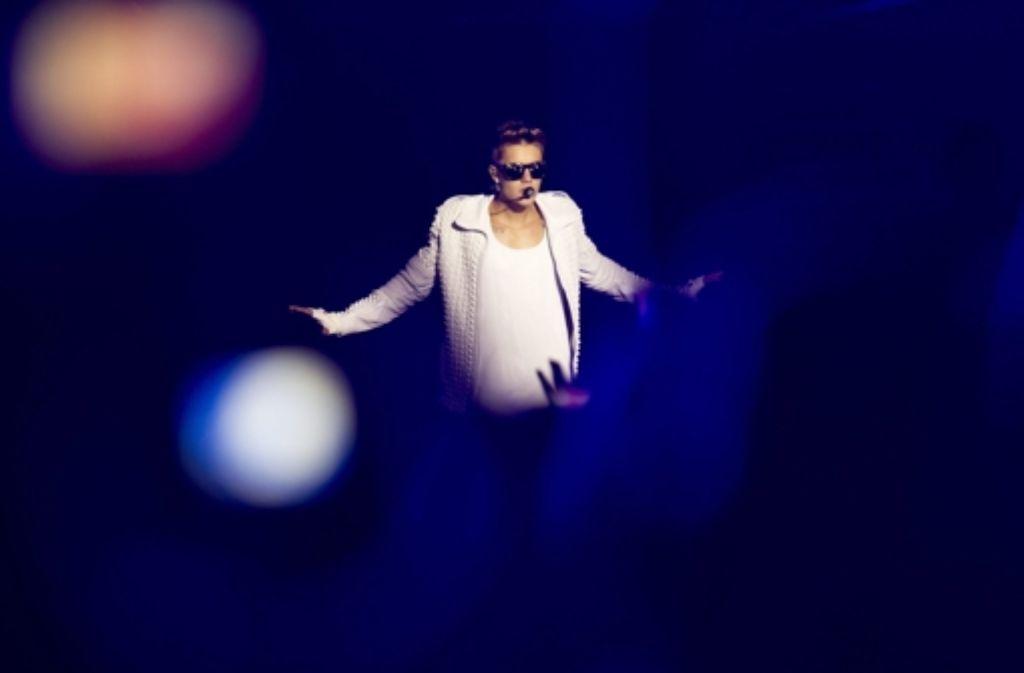Justin Bieber hat schon wieder Probleme mit der Polizei. Foto: dpa