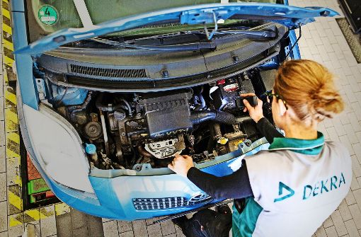 Dekra will den Zugriff auf Fahrzeugdaten