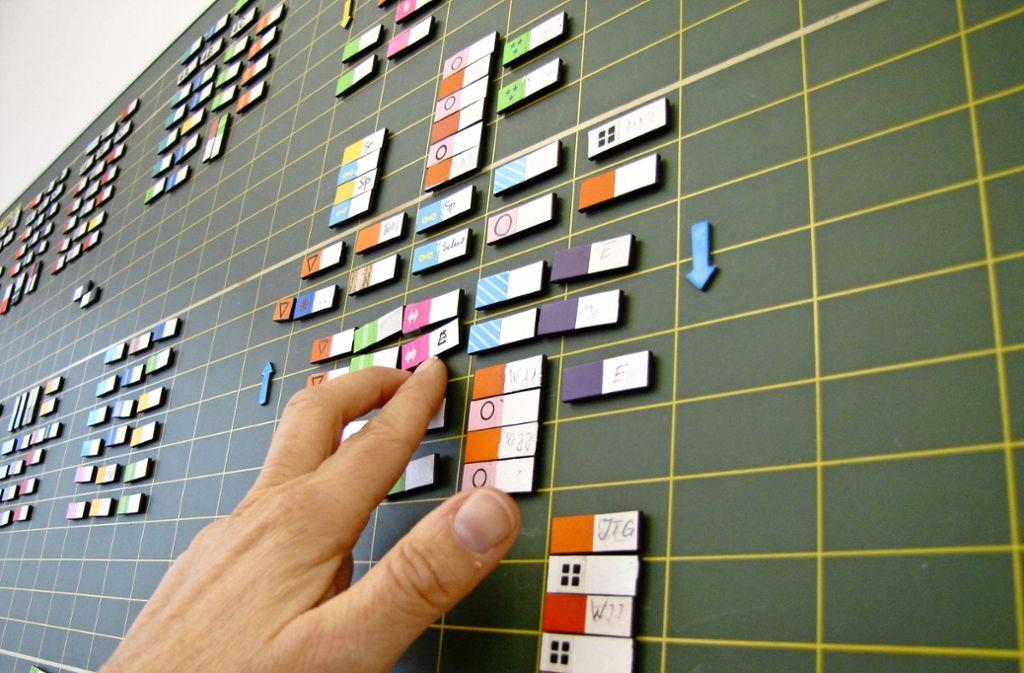 Stundenplanung könnte digital laufen, wenn es flächendeckende Programme gäbe. Foto: Judith A. Sägesser
