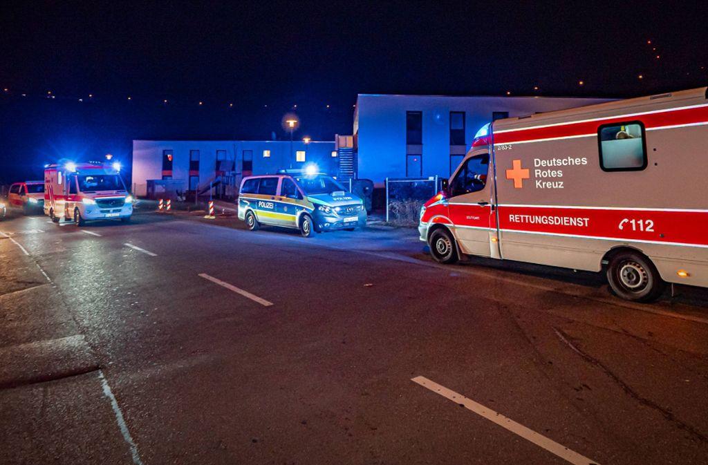 Beide Bewohner wurden nach dem Streit in ein Krankenhaus gebracht. Foto: 7aktuell.de/Alexander Hald