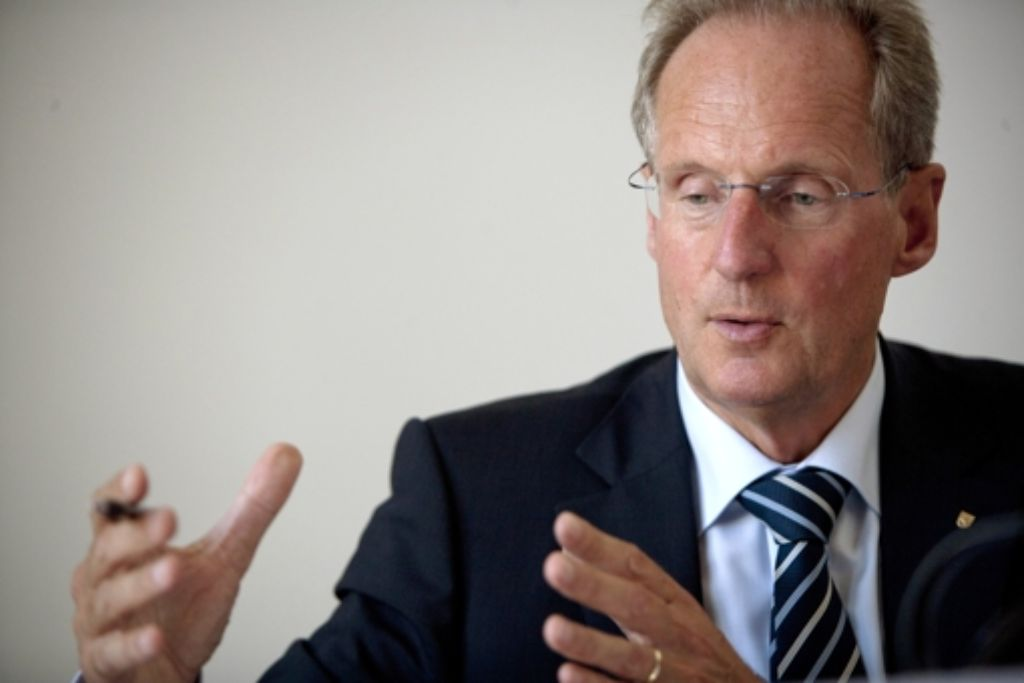 OB Wolfgang Schuster muss keine Ermittlungen befürchten. Foto: Steinert