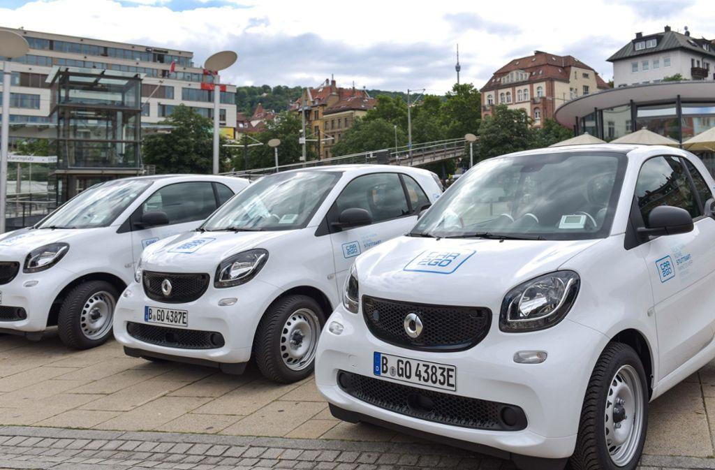 Bis September werden alle 500 Fahrzeuge der Car2Go-Flotte in Stuttgart getauscht sein. Foto: Lichtgut/Max Kovalenko