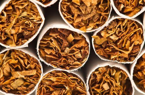 Polizei stellt 100 Kilo Tabak sicher