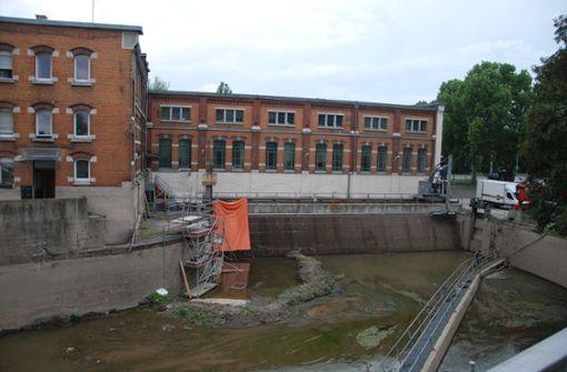 Wasserkraftwerk bald nicht mehr auf dem Trockenen