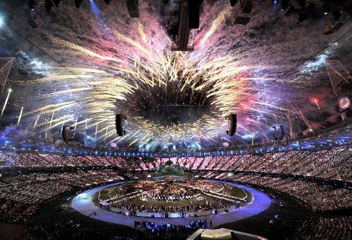 Die Olympischen Spiele sind eröffnet