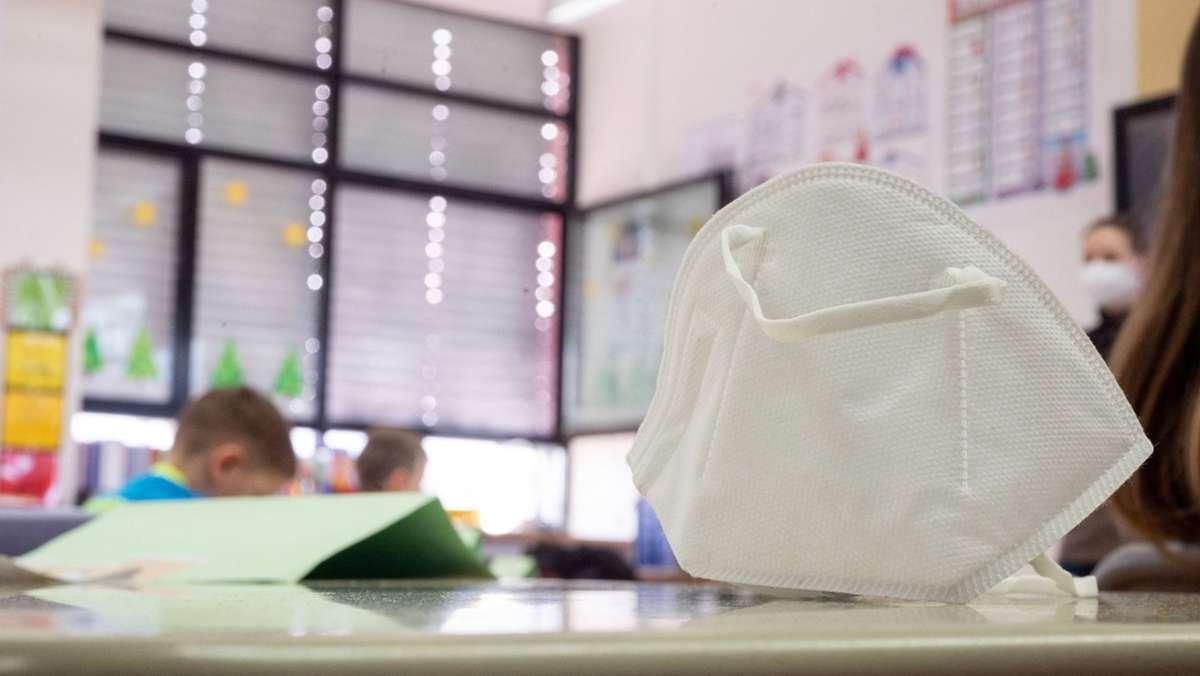 Am Montag fällt die Maskenpflicht auf der Schulbank