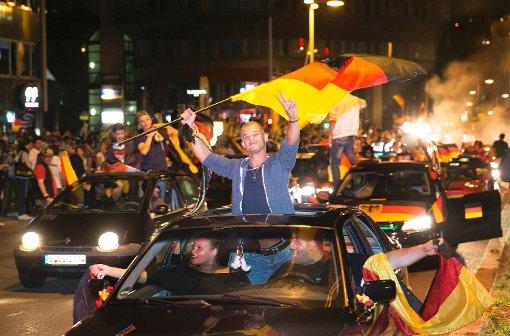 Deutschland gegen Argentinien - Stuttgart erlebt das Endspiel