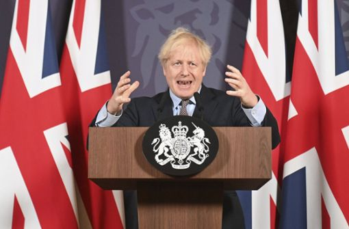 "Johnson verspricht den Briten einen ""Neuanfang"""