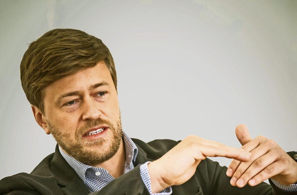 René Marius Köhler hält noch  zehn Prozent an Internetstores. Mit dem  Haupteigner Signa soll die Holding Marktführer im deutschen Sporthandel werden. Foto: Lichtgut/Achim Zweygarth (2), StZ