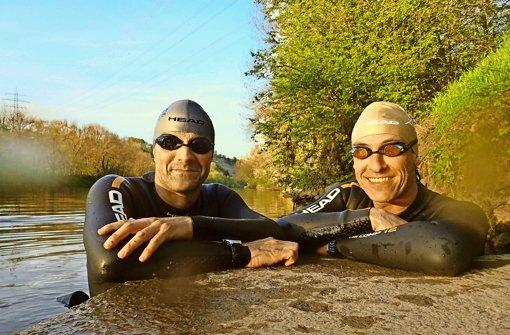 Die Extrem-Neckarschwimmer
