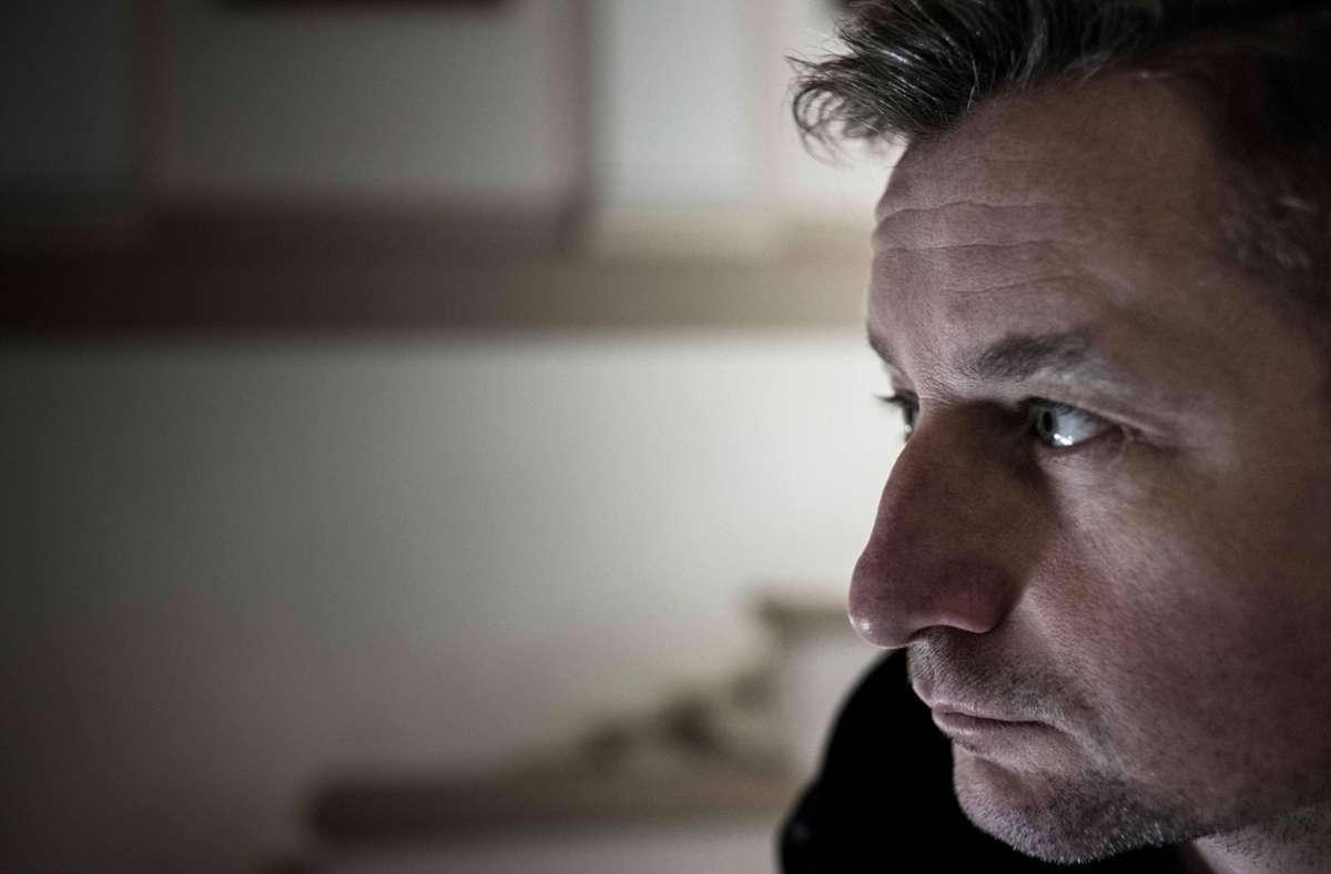 """Beim """"Losgesagt""""-Festival im Literaturhaus dabei: Serhij Zhadan, eine der bekanntesten Stimmen der ukrainischen Gegenwartsliteratur Foto: imago images / ZUMA Press/Oleksandr Rupeta"""