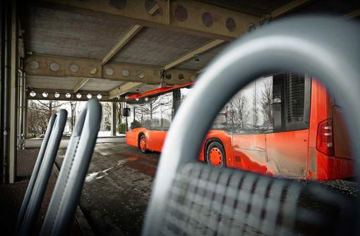 Busse kommen verspätet oder gar nicht