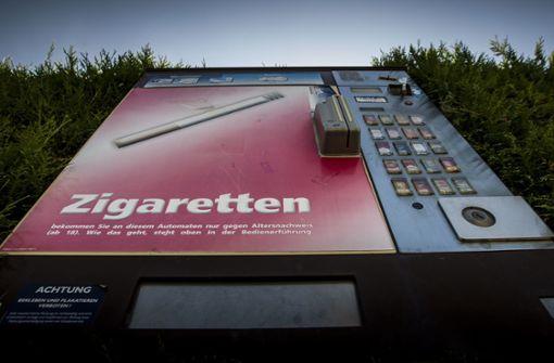 Zigarettenautomat: Sprengung misslingt