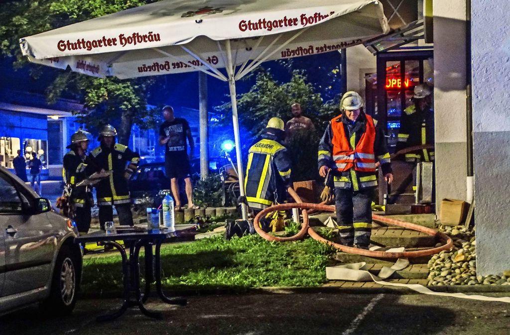 Die Feuerwehr muss ausrücken, wenn es brennt – so wie hier im August eine Fritteuse Foto: SDMG